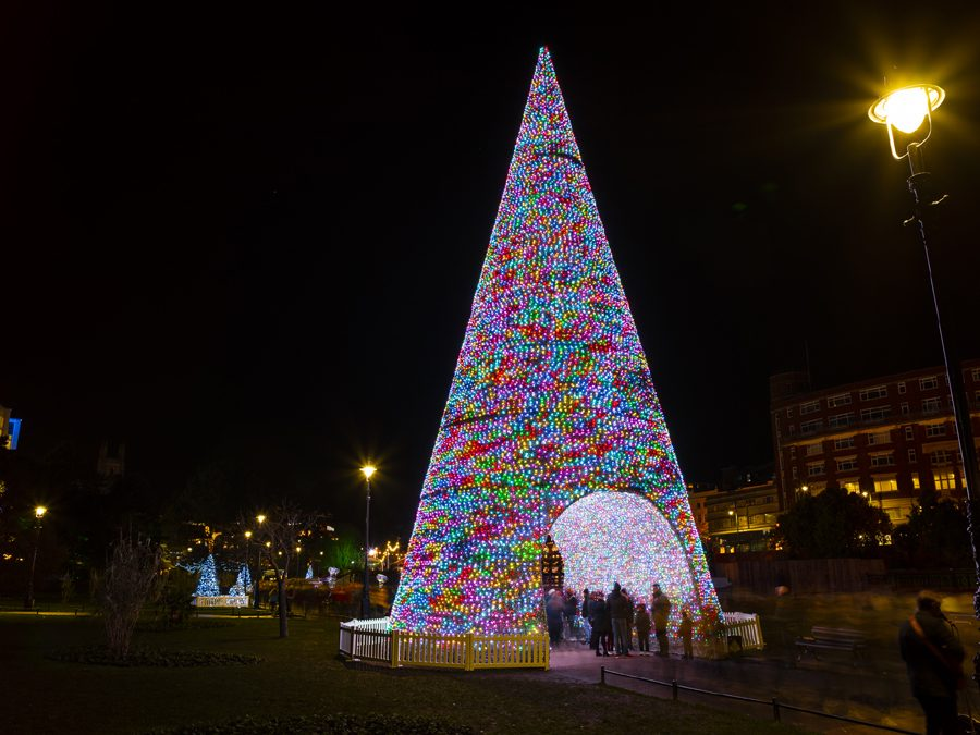 AJC Bournemouth Christmas Tree Install